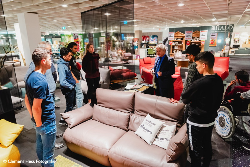 Unternehmensbesuch Möbel Martin Mainz Fc Ente Bagdad
